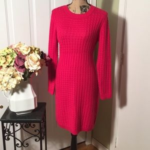 Calvin Klein cable knit sweater dress🌺
